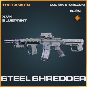 steel shredder legendary XM4 blueprint in Cold War and Warzone