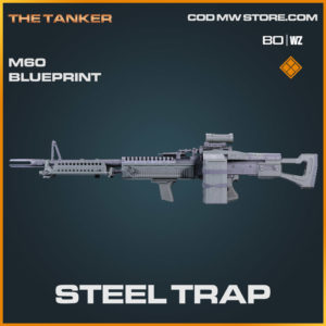 steel trap legendary M60 blueprint in Cold War and Warzone