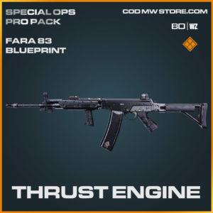 Thrust Engine FARA 83 blueprint skin in Warzone and Cold War