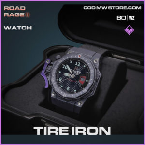 Tire Iron watch in Warzone and Cold War