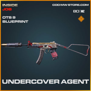 Undercover Agent OTs 9 blueprint skin in Cold War and Warzone