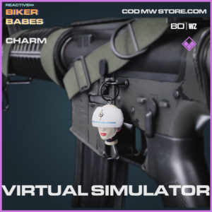 Virtual Simulator charm in Warzone and Cold War