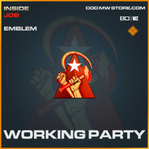 Working Party emblem in Cold War and Warzone