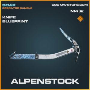 Alpenstock knife blueprint skin in Warzone and Modern Warfare