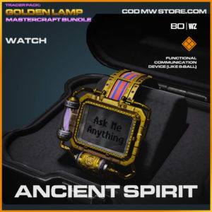 Ancient Spirit watch in Warzone and Cold War