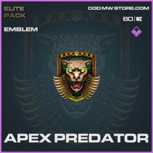 Apex Predator emblem in Warzone and Cold War