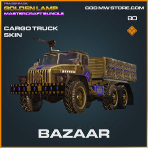Bazaar Cargo Truck skin in Cold War
