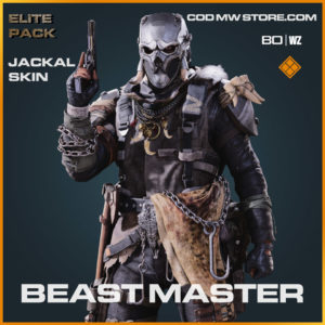 Beast Master Jackal Skin in Warzone and Cold War