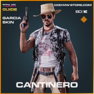 Cantinero Garcia Skin in Warzone and Cold War