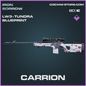 carrion lw3-tundra blueprint in Warzone and Cold War
