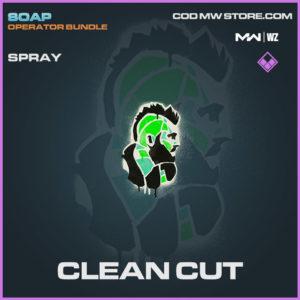 Clean Cut spray in Warzone and Modern Warfare