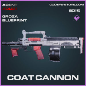 Coat Cannon Groza blueprint skin in Warzone and Cold War
