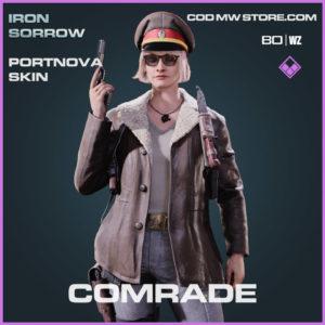comrade portnova skin in Warzone and Cold War