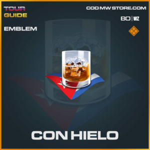 Con Hielo emblem in Warzone and Cold War