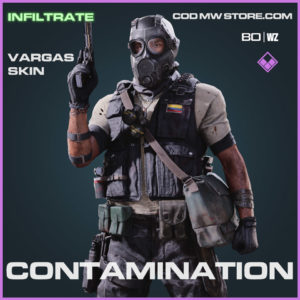 Contamination Vargas skin in Warzone and Cold War