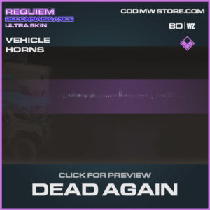 Dead Again vehicle horns in Warzone and Cold War