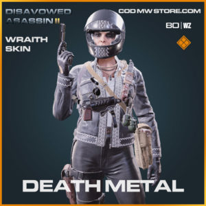 Death Metal wraith skin in Warzone and Cold War