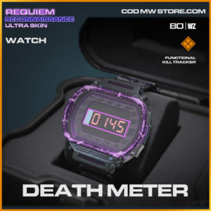 death meter watch kill tracker in Warzone and Cold War