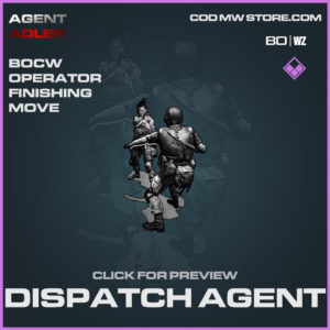 Dispatch Agent finishing move in Warzone and Cold War