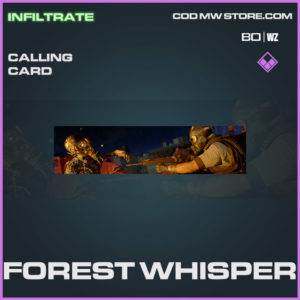 Forest Whisper calling card in Warzone and Cold War
