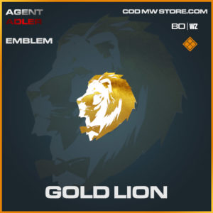 Gold Lion emblem in Warzone and Cold War