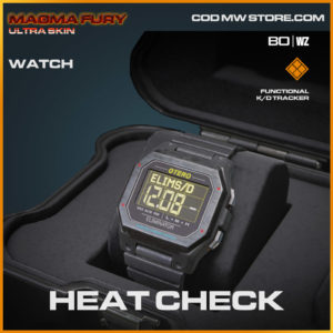 Heat Check watch in Warzone and Cold War