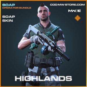Highlands Soap skin in Warzone and Modern Warfare