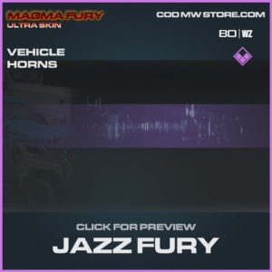 Jazz Fury vehicle horns in Warzone and Cold War