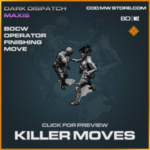 Killer Move finishing move in Warzone and Cold War