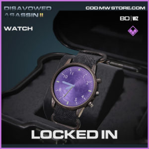 Locked IN watch in Warzone and Cold War
