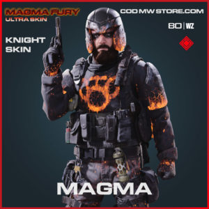 Magma Knight Skin in Warzone and Cold War