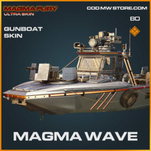 Magma Wave Gunboat skin in Warzone and Cold War