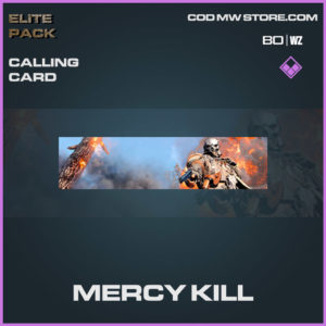 Mercy Kill calling card in Warzone and Cold War