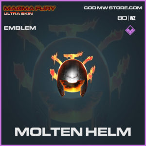 Molten Helm Emblem in Warzone and Cold War