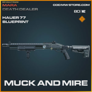 Muck and Mire Hauer 77 blueprint skin in Warzone and Modern Warfare