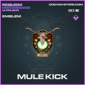 mule kick emblem in Warzone and Cold War