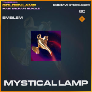 Mystical Lamp emblem in Warzone and Cold War
