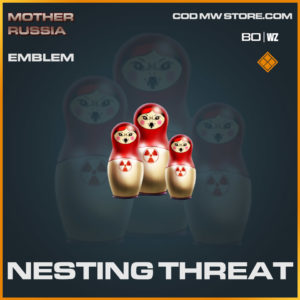 nesting threat emblem in Warzone and Cold War