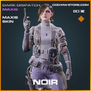 Noir Maxis skin in Warzone and Cold War