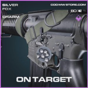 On Target charm in Warzone and Cold War