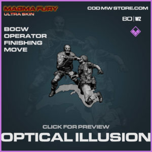 Optical Illusion Finishing Move Warzone and Cold War