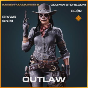 Outlaw Rivas skin in Warzone and Cold War