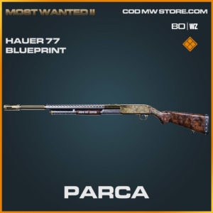 Parca Hauer 77 blueprint skin in Warzone and Cold War