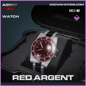 Red Argent Watch in Warzone and Cold War