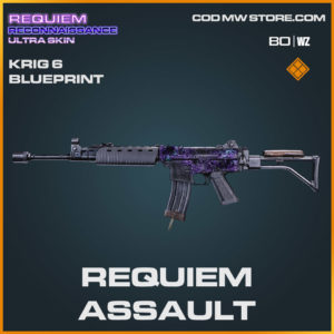 requiem assault krig 6 blueprint in Warzone and Cold War