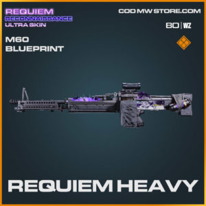 requiem heavy m60 blueprint in Warzone and Cold War