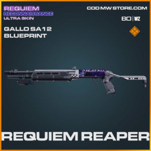 requiem reaper gallo sa12 blueprint in Warzone and Cold War