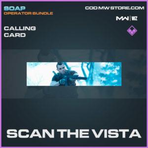 Scan the Vista calling card in Warzone and Modern Warfare