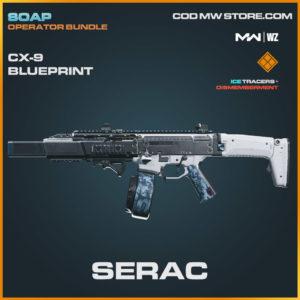 Serac CX-9 blueprint skin in Warzone and Modern Warfare