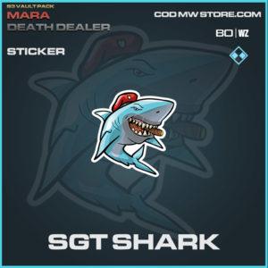 Sgt Shark Sticker in Warzone and Modern Warfare